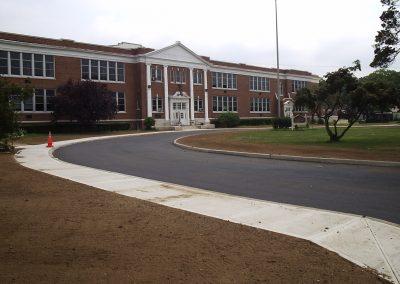 New-sidewalks-at-Road-School